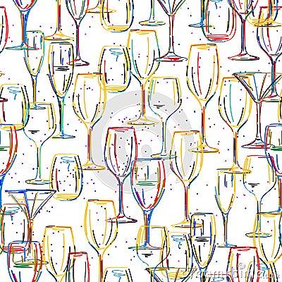 Teste padrão dos cocktail