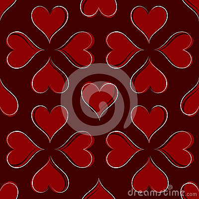 Teste padrão dos corações