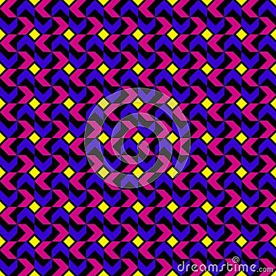 Teste padrão geométrico da tendência moderna