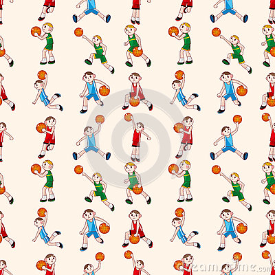 Teste padrão sem emenda do basquetebol