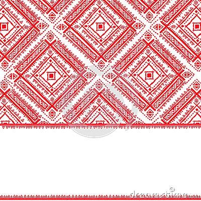 Teste padrão étnico do vintage tribal sem emenda
