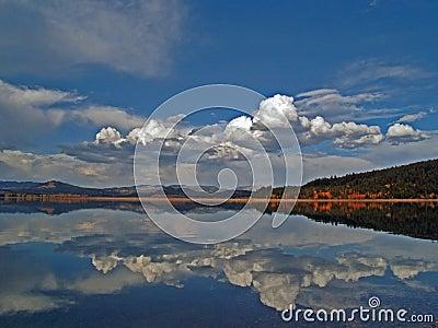 Teton Lake Reflection