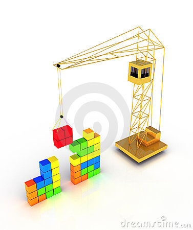 Tetris construction