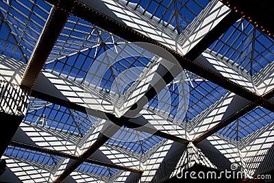 Tetto di vetro immagini stock immagine 2113884 for Stili tetto tetto