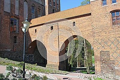 Teutonic Order castle in kwidzyn