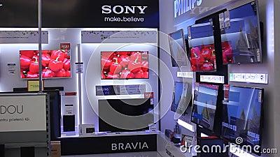 Tevês de Sony vídeos de arquivo