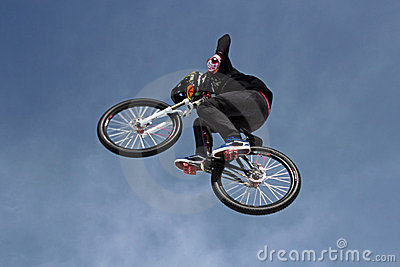 Teva Best Trick Bike Editorial Stock Photo