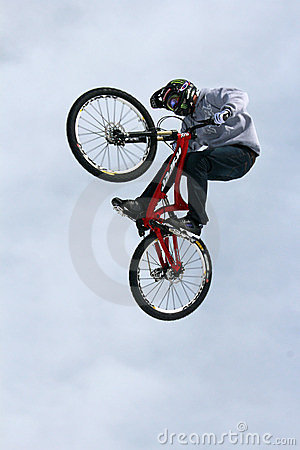 Teva Best Trick Bike Editorial Photography