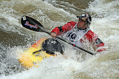 Teva Mt. Games 2011 - Freestyle Kayaking Editorial Photo