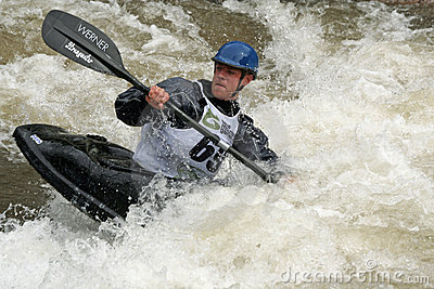 Teva Mt. Games 2011 - Freestyle Kayaking Editorial Stock Image