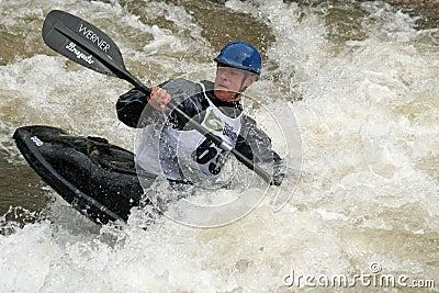 Teva Mt. Games 2011 - Freestyle Kayaking Editorial Stock Image