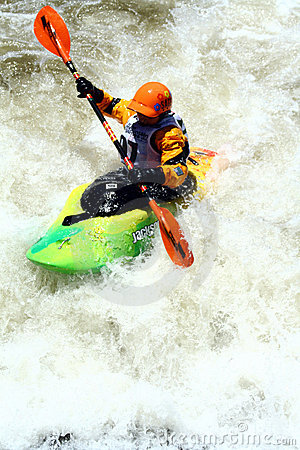 Teva Mt. Games 2011 - Freestyle Kayaking Editorial Image