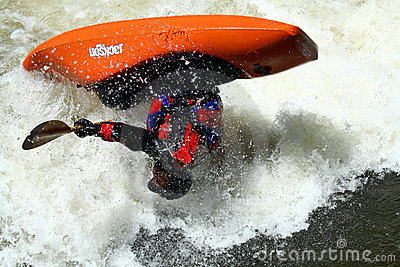 Teva Mt. Games 2011 - Freestyle Kayaking Editorial Stock Photo