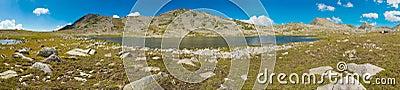 Tevno Lake Panorama
