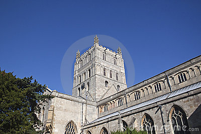 Tewkesbury abbey tower