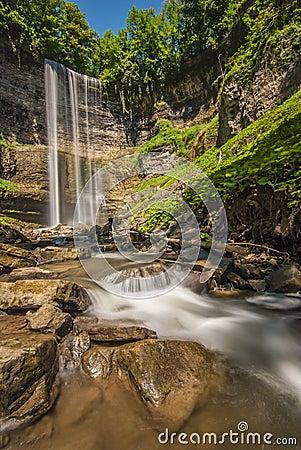 Tews Falls in Ontario canada