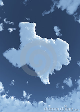 Texas in Clouds