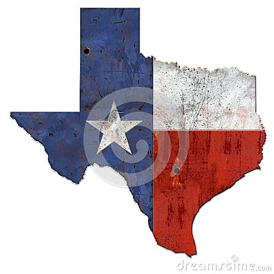 Free Texas Flag Rustic Royalty Free Stock Photos - 106932008