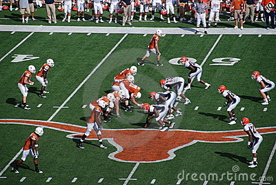 Texas longhorns college football game Editorial Photography