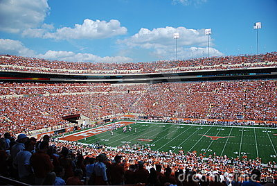 Texas longhorns college football game Editorial Photo