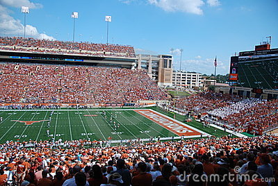 Texas longhorns college football game Editorial Image