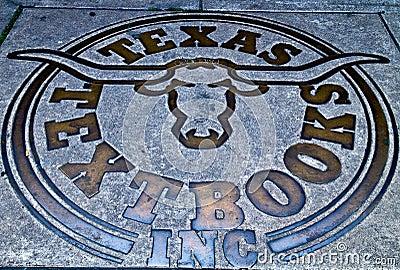 Texas longhorns symbol Editorial Photography