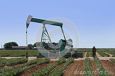 Texas oil well