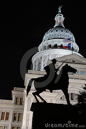 Free Texas Ranger Capitol Building Royalty Free Stock Photography - 4983227