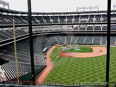 Texas Rangers Ballpark at Arlington Editorial Photography