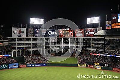 Texas Rangers Ballpark in Arlington Editorial Photo