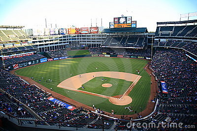Texas Rangers Ballpark in Arlington Editorial Stock Image