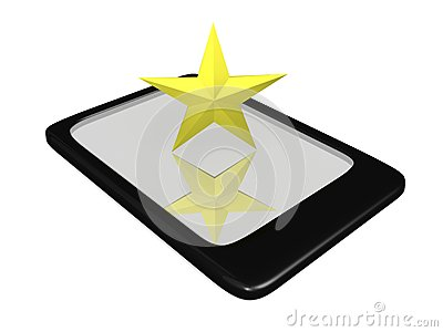Texas Star on Touch Pad
