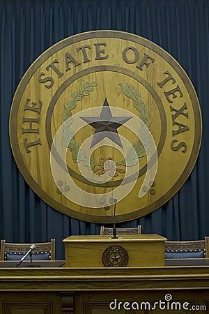Texas state emblem