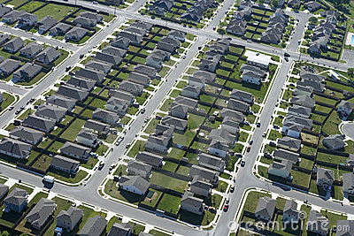 Texas suburb.