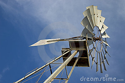 Texas Windmill 2 Stock Photo