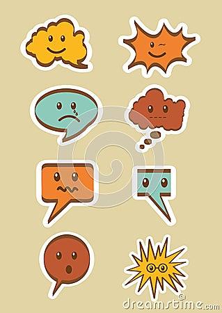 Text balloons