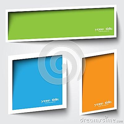 Text boxas design