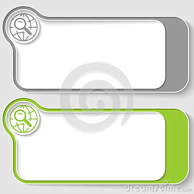Free Text Boxes Stock Image - 66460701