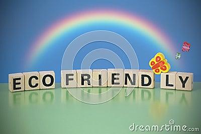 Text ECO FRIENDLY
