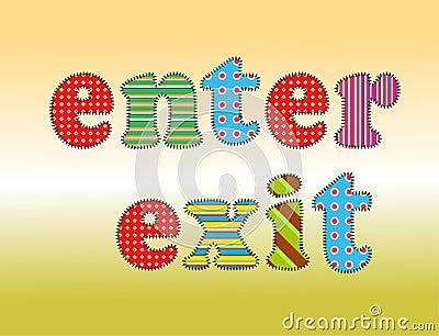 Text enter