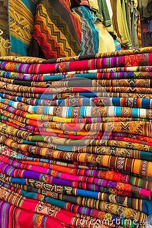Free Textil In Peru Royalty Free Stock Image - 82976796