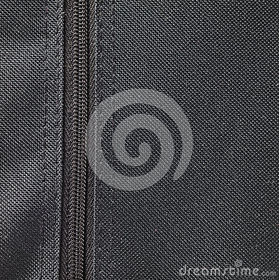Textile background and zipper