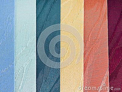Textile blinds