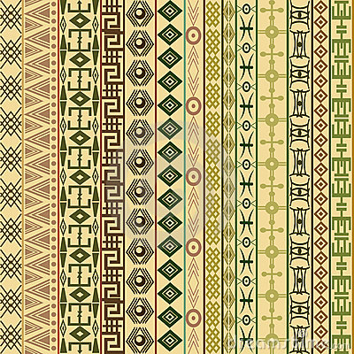 Textile fabric background with ethnic motifs