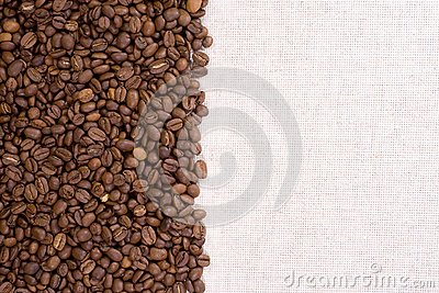 Textile material and beans
