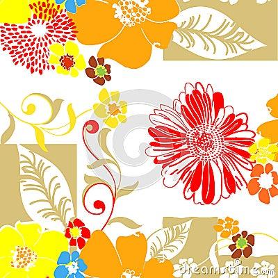 Textile Pattern-Floral