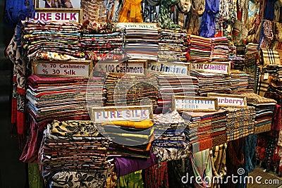 Textile shop in Turkey