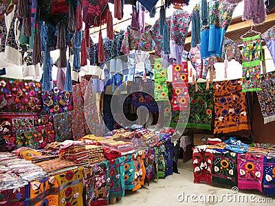 Textile Souvenir Store in Zinacantan