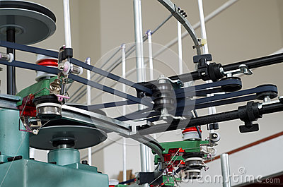 Textile weaving manufacture machine