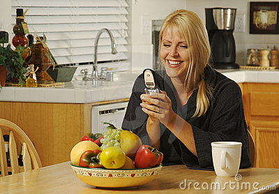 Texting with Cell Phone